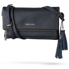 Zohara Clutch Bag with Shoulder Strap - Heath